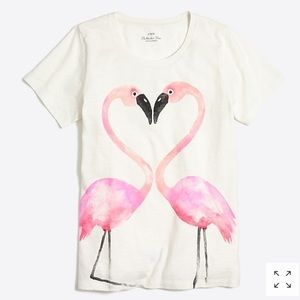 J.Crew Flamingo Love Collector T-Shirt